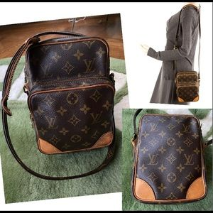 Authentic Louis vuitton Amazon shoulder Crossbody